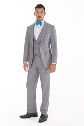 Allure Men, Grey, Tuxedo, Prom, Wedding