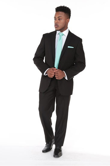 Picture of Black Asbury Suit