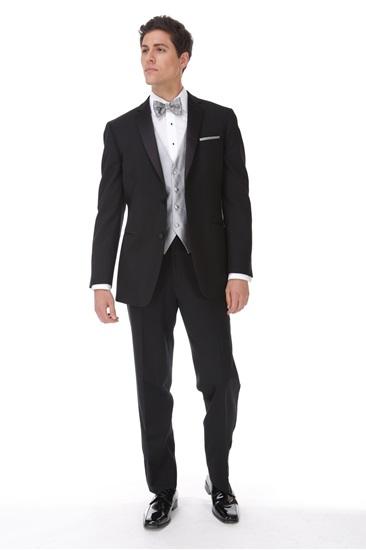 Picture of Black Classic Notch Tuxedo