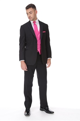 Picture of Black Classic Peak Tuxedo