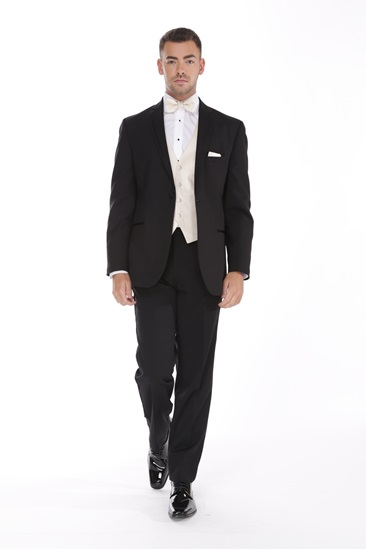 Picture of Black David Tutera Celebration Tuxedo