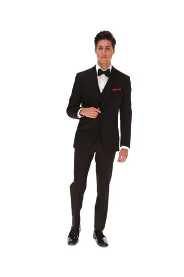 Picture of Black Ike Behar Ashton Tuxedo
