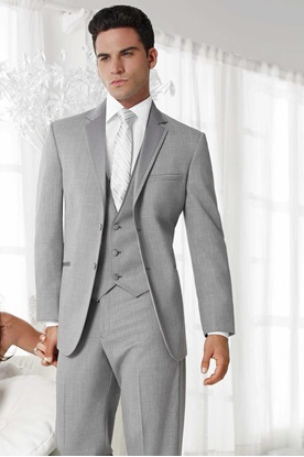 Picture of Grey Heather Jean Yves Twilight Tuxedo