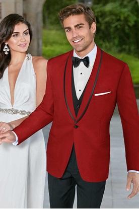Red Carmine GiNovia Tuxedo